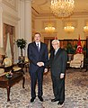 Ilham Aliyev and President of Singapore Tony Tan held a meeting in an expanded format with the participation of delegations, 2012 03.jpg