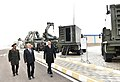Ilham Aliyev attended opening of soldier dormitory and military-household complex in military unit of Detached Combined Arms Army 19.jpg