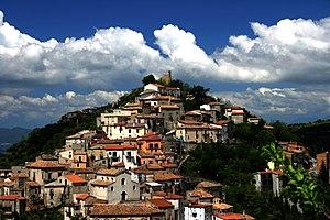 Acri - Image: Immagine Acri quartieri Picitti Santa Croce Odivella