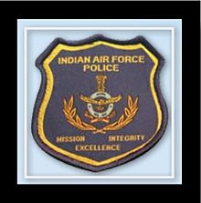 The badge is worn by all Provost Officers and IAF(P) tradesmen on the right hand sleeve of their uniforms
