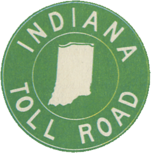 Mishawaka, Indiana - Image: Indiana Toll Road logo 1968