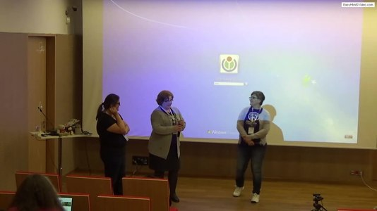 Файл:Insights from the WikiWomenCamp 2017 – Vassia Atanassova, Nat Tymkiv, Malgorzata Wilk.webm
