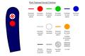 Insignes de grades du Parti National Social Chrétien.png