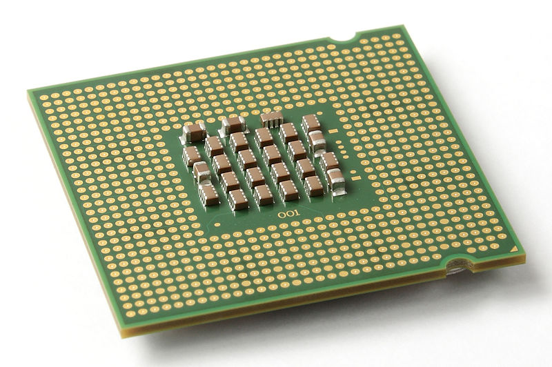 File:Intel CPU Pentium 4 640 Prescott bottom.jpg