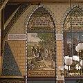 Interieur, eerste verdieping, achterzijde rechts (Statenzaal), muurschildering, Lebuinis predikt het Christendom in Overijssel - Zwolle - 20393813 - RCE.jpg