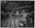 Interior, main lobby, view northeast - Lake Lodge, Southwest of Lake Junction, Lake, Teton County, WY HABS WYO,20-LAK,2A-6.tif