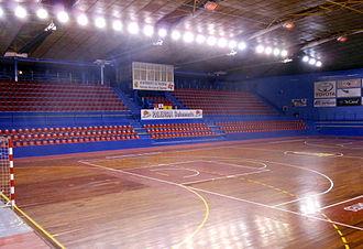 Palencia Baloncesto - Pabellón Marta Domínguez, the arena of Palencia Baloncesto.