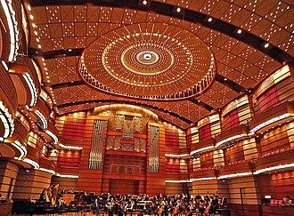Petronas Philharmonic Hall - Interior of the concert hall