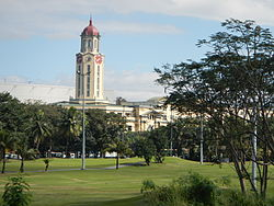 TA view of the Manila City Hall from Intramuros