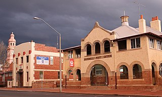 """Inverell Post Office """"Heritage place or item located at 97 Otho Inverell New South Wales, Australia"""""""