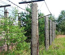 Remains Of Iron Curtain In Former Czechoslovakia At The Czech German Border