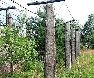 Iron Curtain - Remains of Iron Curtain in former Czechoslovakia at the Czech-German border