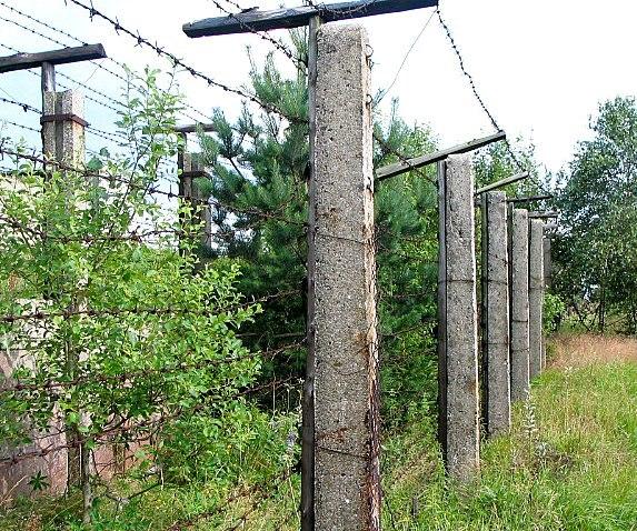 Iron curtain in Czech Republic 2007