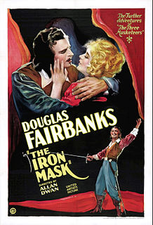 <i>The Iron Mask</i> 1929 film by Allan Dwan
