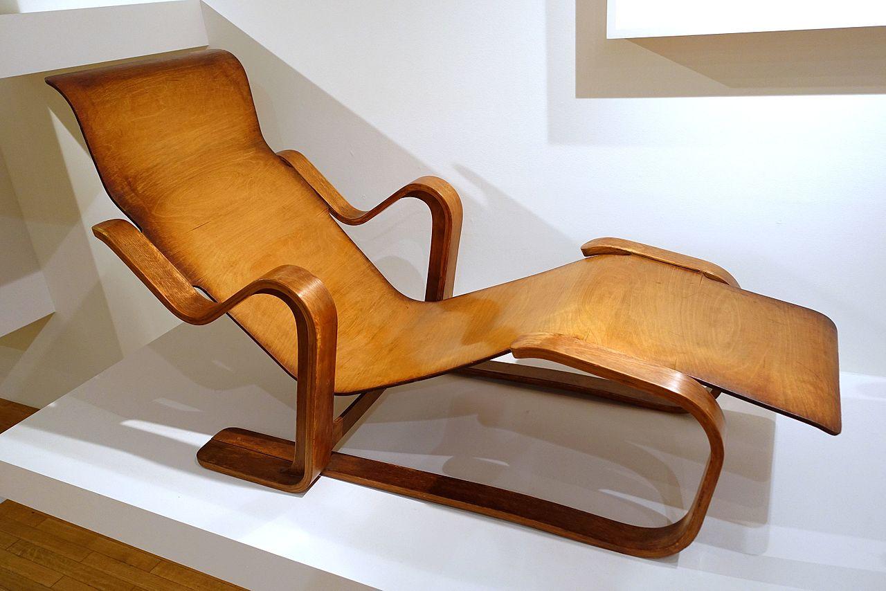 File Isokon Reclining Chair Designed By Marcel Breuer Isokon Furniture Company London 1935