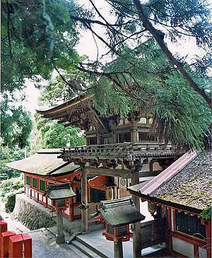 Tenri, Nara - Gate of Isonokami Jingu