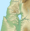 Israel North relief location map 2.png