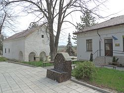 Izvor (Vidin Province) - church, drinking fontain, mayor office.jpg