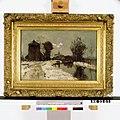J.C. Ritsema - Winterlandschap met hooiberg bij een kanaal - NK2201 - Instituut Collectie Nederland.jpg