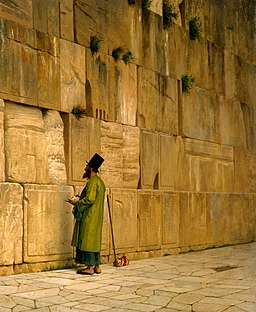 J.L. Gerome - The Wailing Wall - Google Art Project