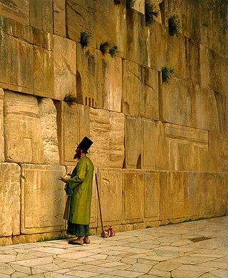 Jean-Léon Gérôme: The Wailing Wall