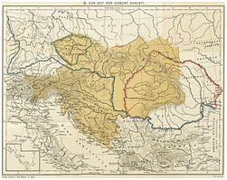 JIREČEK(1893) – Karte 2. Zur Zeit der Geburt Christi.jpg