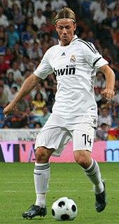 Guti Spanish footballer and manager