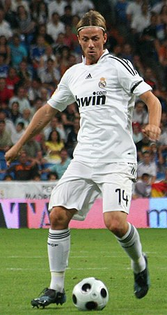 acee3a97d Guti in action for Real Madrid in 2008