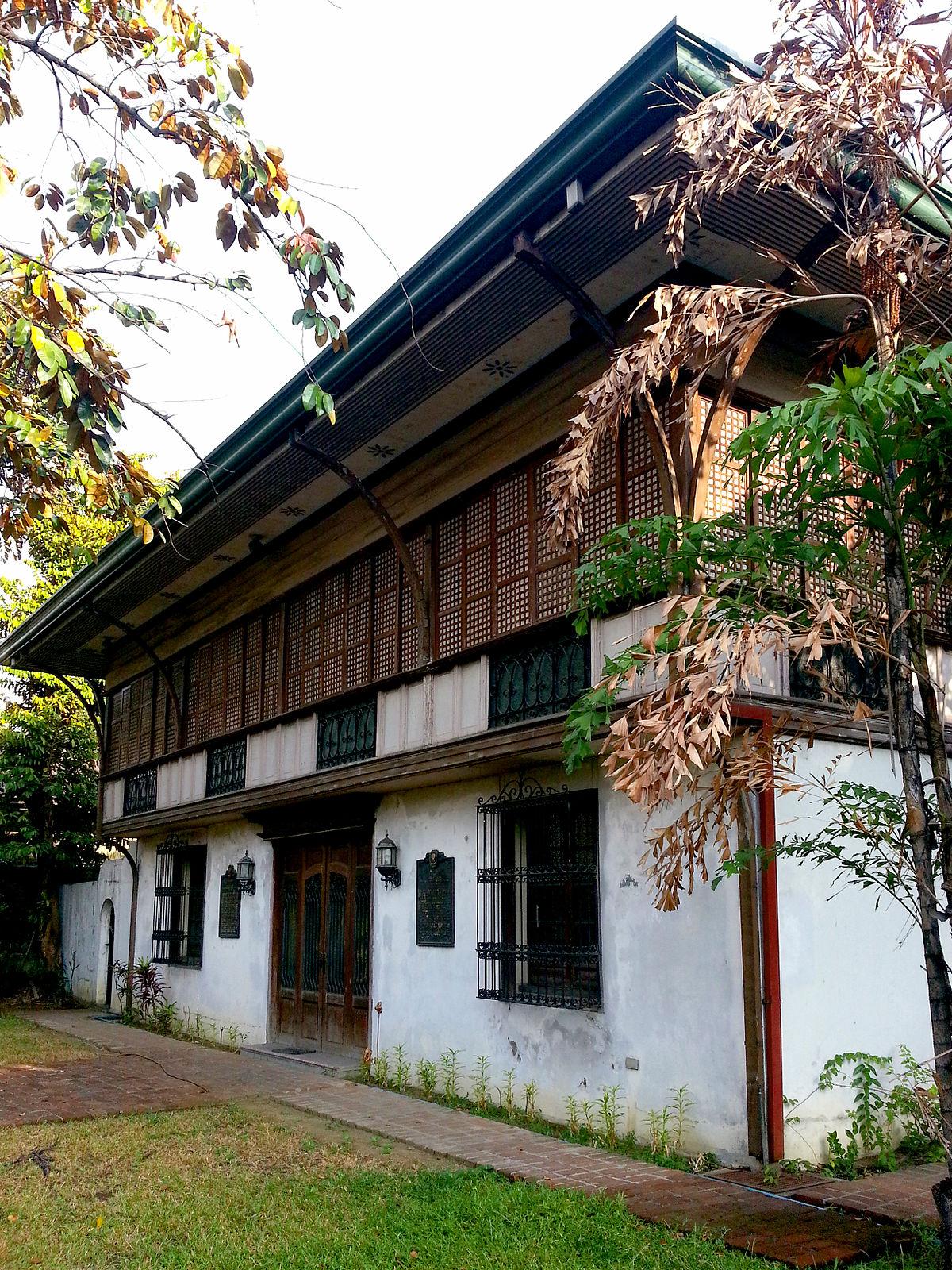 Jose p laurel ancestral house manila wikipedia for The laurel house