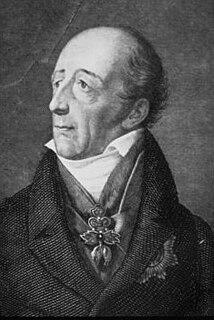 Johann Philipp Stadion, Count von Warthausen Austrian statesman