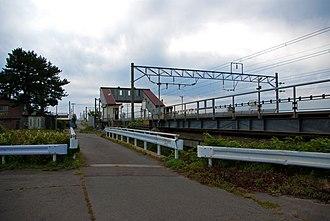 Nakasawa Station - Nakagawa Station in September 2009