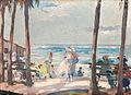 JVP 1912 Playa con cinco palmeras.jpg