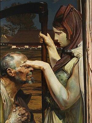 1902 in art - Image: Jacek Malczewski, Śmierć