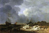 Jacob Isaacksz. van Ruisdael - The Breakwater - WGA20503.jpg