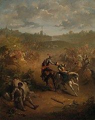 Anno 1588. Het dappere optreden van Marcelis Bax bij Bergen op Zoom