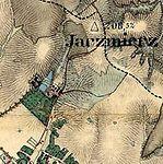 Jaczmierz bei Sanok Franzisco-Josephinische Landesaufnahme (1806-1869).jpg