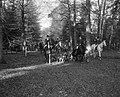 Jagermeester De Modderman (midden) bij vertrek, Bestanddeelnr 918-4131.jpg