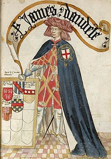 Founder knight of the Order of the Garter