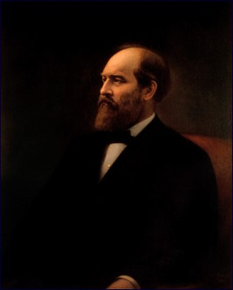 1881 in the United States - March 4: James A. Garfield becomes President