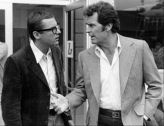 James Whitmore Jr. - James Whitmore Jr. (left) as Freddie Beamer in The Rockford Files, listening as Jim Rockford (James Garner) speaks to him.