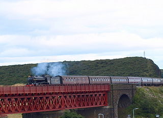 railway viaduct in Fife, Scotland