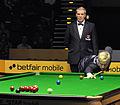 Jan Verhaas and Neil Robertson at Snooker German Masters (DerHexer) 2013-02-02 03.jpg