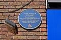 Jane Austen Plaque in the High Street, Dartford.jpg