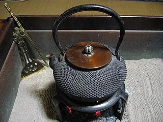 <i>Tetsubin</i> Japanese cast iron kettle