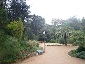 English: Historic Botanical Garden of Barcelona