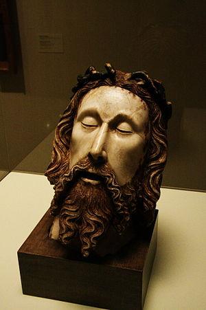 Head of Christ (Cascalls) - Image: Jaume Cascall cap Crist 6838