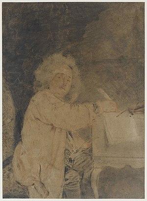 Jean-Féry Rebel - Jean-Féry Rebel, ca. 1710?, drawing by Antoine Watteau, Musée Magnin, Dijon (France).