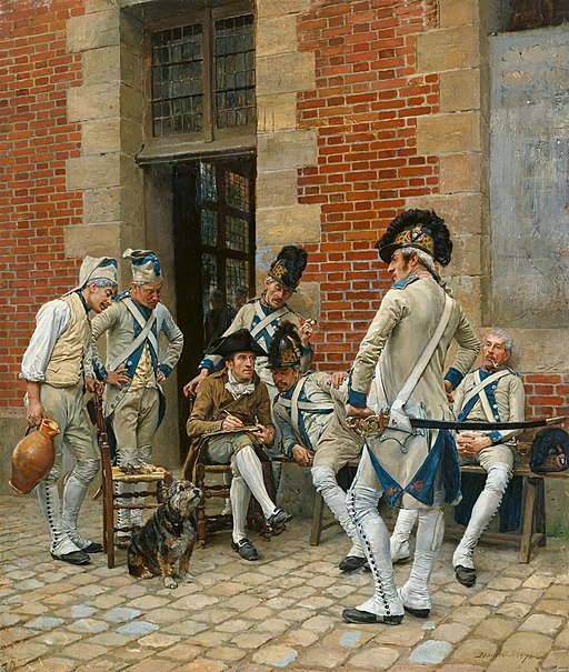 Jean-Louis-Ernest Meissonier - The Portrait of a Sergeant - WGA14740