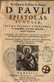 Jean de Gaigny, Brevissima et facillima in omnes divi Pauli epistolas scholia.png