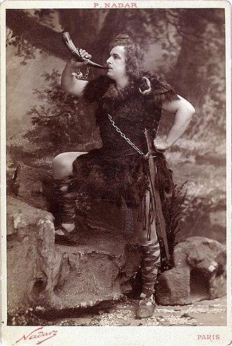 Siegfried (opera) - Jean de Reszke as Siegfried (c. 1896)